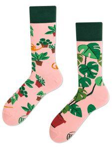 Many Mornings Plant Lover Socken Musterung, Größe:43-46