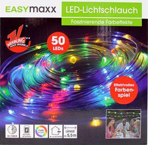 Easymaxx LED Lichtschlauch 5 Meter 4,5V