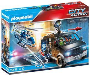 PLAYMOBIL City Action 70575 Polizei-Helikopter: Verfolgung des Fluchtfahrzeugs