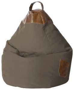 "Magma Heimtex Sitzsack ""BeanBag"" Jamie XL in der Farbe braun; 3283170"