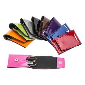 Manicureetui aus Lack 3 -teilig Füllung Solingen de Luxe, verschiedene Farben