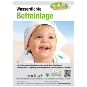 Odenwälder 10020 - 50/70 Wasserdichte Betteinlage, weiss