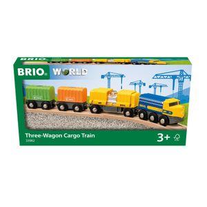 BRIO Güterzug mit drei Waggons