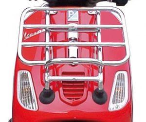 Original Vespa Frontklappgepäckträger verchromt für Roller Vespa S