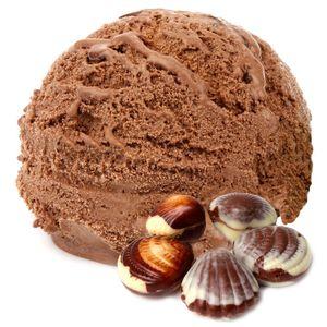 Belgische Praline Geschmack Eispulver Softeispulver 1:3 - 1 kg