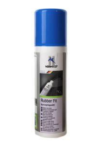 Normfest Rubber Fit Gummipflege Stift für Türdichtung KFZ 75ml Flasche mit Applikationsschwamm