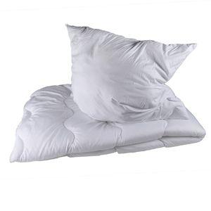 Premium Microfaser Bettdecken - Kopfkissen - Sets, Atmungsaktiv, Gesteppt (Bettenset Steppdecke 135x200cm, Kopfkissen 80x80cm)