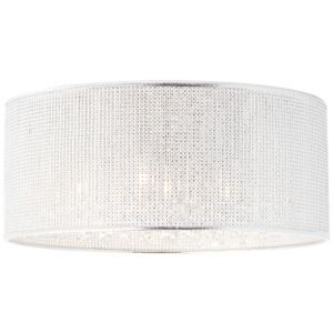 BRILLIANT DUBAI  Deckenleuchte Ø 46 cm Metall / Kunststoff Chrom 6 flammig