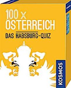 KOSMOS 100 x Österreich - Das Habsburg-Quiz, Quizspiel, Fragespiel, Karten, Spielen, ab 10 Jahre, 698980