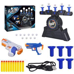 Floating Target Shooter, Electric Hover Ball Shot Dart Gun Set, Foam Dart Floating Ball Target Set (2 Pistole)
