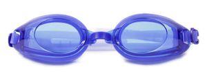 Profi Schwimmbrille mit Antibeschlag Schicht / Blau / Verstellbar