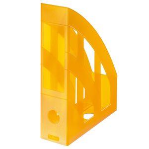 Herlitz Stehsammler / Plastik Stehordner / Farbe: transluzent orange
