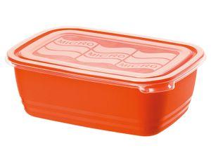 Rotho Mikrowellen-Dose 1,9L ECO, rot/transparent; 906719
