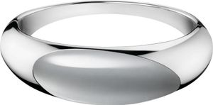 Calvin Klein Jewelry Ellipse Stone KJ3QWD0201 Damenarmreif Design Highlight, Armreifgröße:S (58x46mm/208mm)