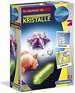 Clementoni Galileo-Fluoreszierende Kristalle