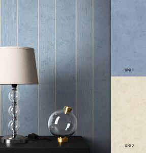 Streifentapete  Blau   Modern Landhaus  Streifen   Olag Muster