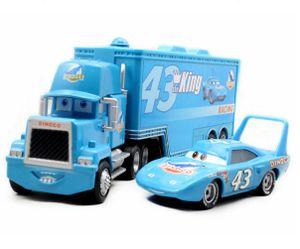 CUIFULI Toys  Vehicle Playsets, Disney Pixar Cars the king DINOCO HAULER Mack Truck car  Autos set