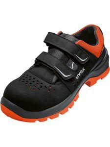 uvex Sicherheitsschuhe uvex 2 xenova® Sandale S1P SRC schwarz/rot Größe