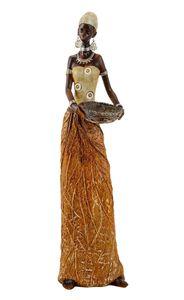 Afrikanerin 40 cm Dekofigur afrikanische Frau