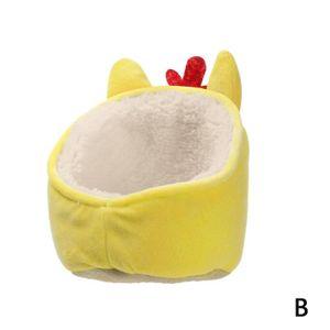 Pet Warme Guinea Pig Bett Weiche Haus Kleine Tier Hamster Ratte Pad Nest Schlaf UK1