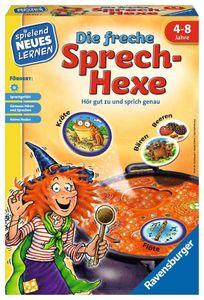 Ravensburger Spielend Neues Lernen Sprachförderspiel Freche Sprech-Hexe 24944