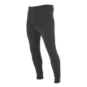 FLOSO Herren Thermo-Unterhose, lang THERM20 (Taille: 91-100 cm (Large)) (Anthrazit)