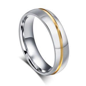 Partner-Ring Edelstahl Trauring Ehering Verlobungsring Bandring Damen Herren Zirkonia Kristalle Autiga® Herren 59 - Ø 18,78 mm