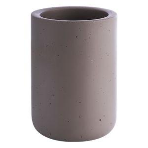 APS Flaschenkühler -ELEMENT- /// außen Ø 12 cm, H: 19 cm, innen Ø 10 cm /// Beton /// 36090