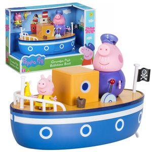 Character World Peppa Pig Grandpa Pig Badespaß Boot Spielset CW05060