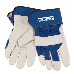 Kreator Arbeitshandschuhe Schutzhandschuhe Bauhandschuhe Handschuhe Leder XL