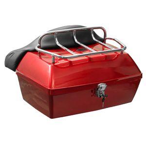 Universal 48L Motorradkoffer Scooter Top Case Hecktasche Rollerkoffer Tasche DE