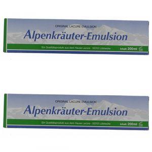 2 x Alpenkräuter-Emulsion 200ml