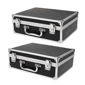 2x Schminkkoffer Alu Kosmetikkoffer Friseurkoffer Leere Tattoo Maschine Koffer Beauty Case Kosmetik Koffer