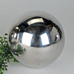 Formano - Dekokugel 15cm Edelstahl glänz