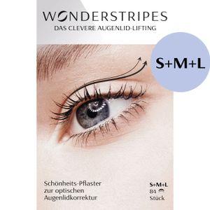 Wonderstripes - Augenlid Pflaster Gr. S+M+L [84 Stripes]