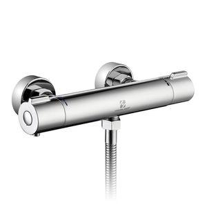 Thermostat Duschen Armatur Duscharmatur Duschthermostat Brausethermostat Bad Mischbatterie Chrom