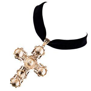 Schmuck Zubehör Halskette mit Christliches Kreuz Anhänger , Damen Schmuck