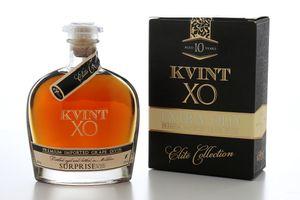 Weinbrand Divin KVINT XO Surprise Brandy 10 Jahre gereift Moldawien (1 x 500ml )