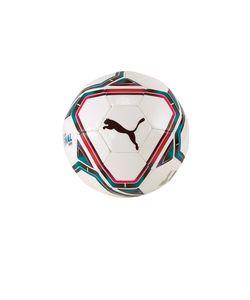 Puma mini-Fußball Final 6 PU/Kunststoff weiß/blau/rot Größe 1