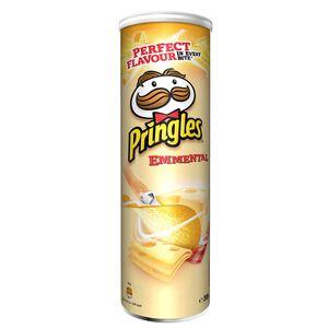 Pringles Emmental Stapelchips mit Emnentalerkäse Geschmack 200g