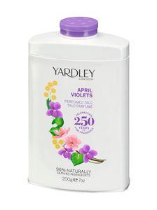 Yardley London April Veilchen Körperpuder 200 g Damen Puder floral blumig