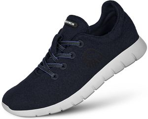 Giesswein Merino Wool Runners Herren dunkelblau Schuhgröße EU 42