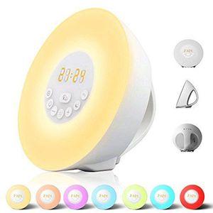 Grundig Wake-up Light LED Lichtwecker Farbwechsel Radio Wecker Sonnenaufgang