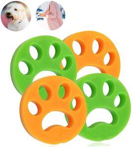 Haustier haarentferner für Wäsche Pet Hair Catcher Reinigung Ball Tierhaarentferner für Waschmaschine für Hundehaar, Katzenfell und alle Haustiere 4 Pack