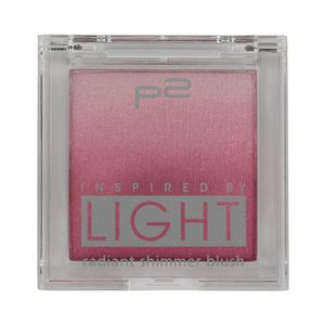 P2 Make-up Teint Rouge Inspired by Light - radiant shimmer blush 833418, Farbe: 020 rosy, 7,5 g