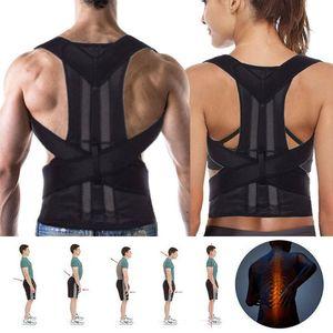 Rückenbandage Rückenhalter Haltungskorrektur Gürtel Rücken Stabilisator XXL Neu@#