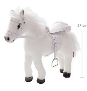 Götz Puppen 3401485 Pferd mit Sattel /Zaumzeug, we