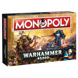 Monopoly Warhammer 40K 40.000 Spiel Gesellschaftsspiel Brettspiel deutsch