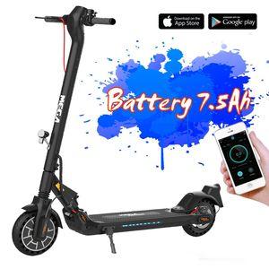 E-Scooter (ABE) mit Straßenzulassung (eKFV)  Elektroscooter Klappbar Elektroroller Scooter Geschwindigkeit Erwachsene bis 20 Km/h 8.5 Zoll aufblasbares LCD-Display Tragbar Vorderen und Hinteren Rückleuchten