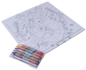 Disney puzzle/Farbtafel Princess junior 17 Teile